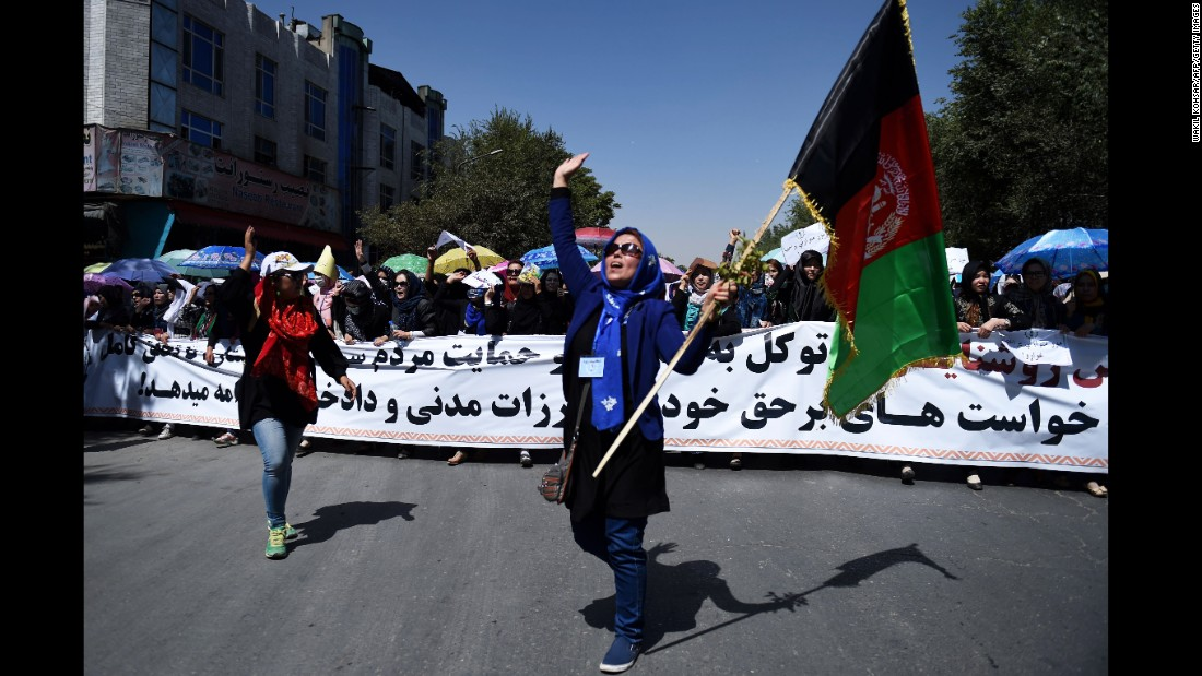 Before the deadly explosion, thousands of minority Shiite Hazaras were demonstrating in Kabul on Saturday July 23 demanding that a key power transmission line pass through their electricity-starved province. It was the second major protest over the issue this year.