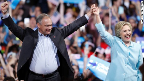 Tim Kaine selected as Hillary Clinton's running mate