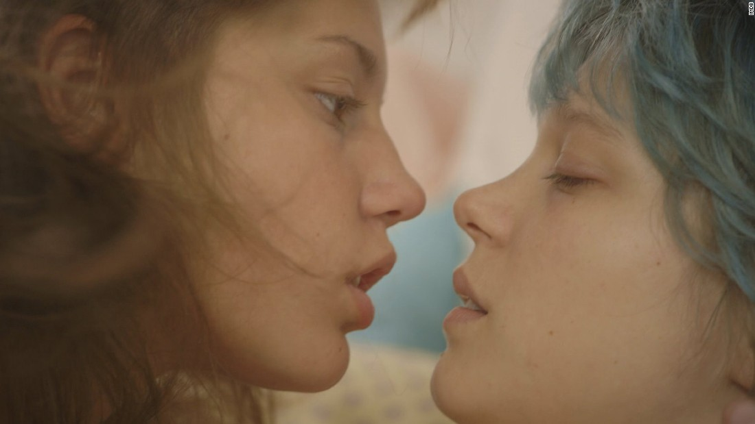 "<strong>""Blue Is the Warmest Color""</strong>: A woman's life changes after she meets a young woman with blue hair in this drama. <strong>(Netflix)</strong>"