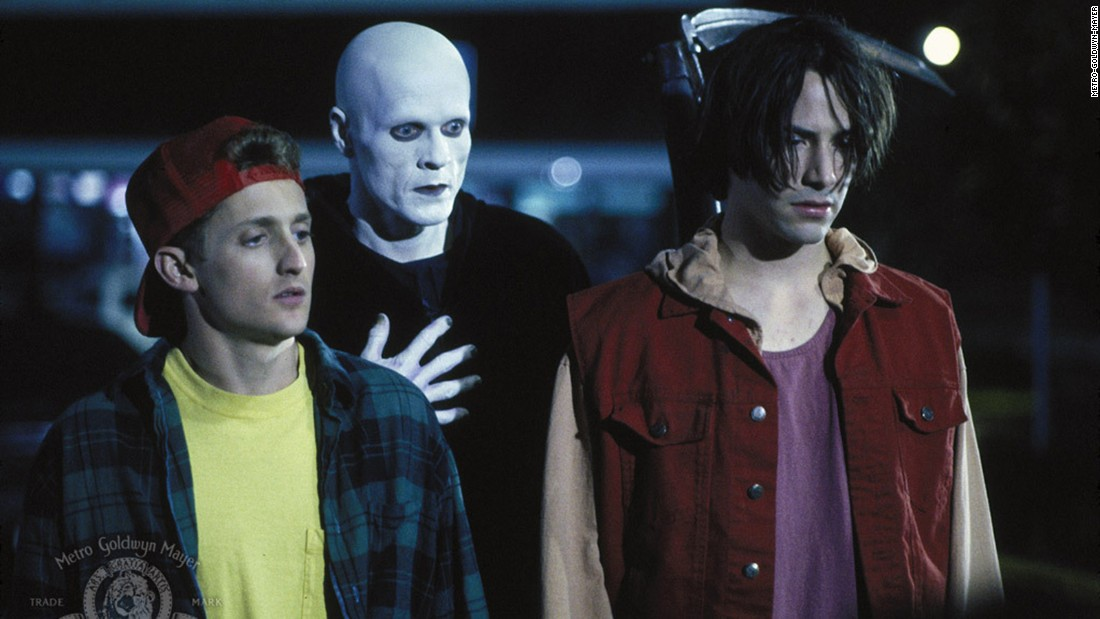 "<strong>""Bill & Ted's Bogus Journey""</strong>: Alex Winter, William Sadler and Keanu Reeves star in this 1991 sequel to a most excellent adventure. <strong>(Hulu)</strong>"