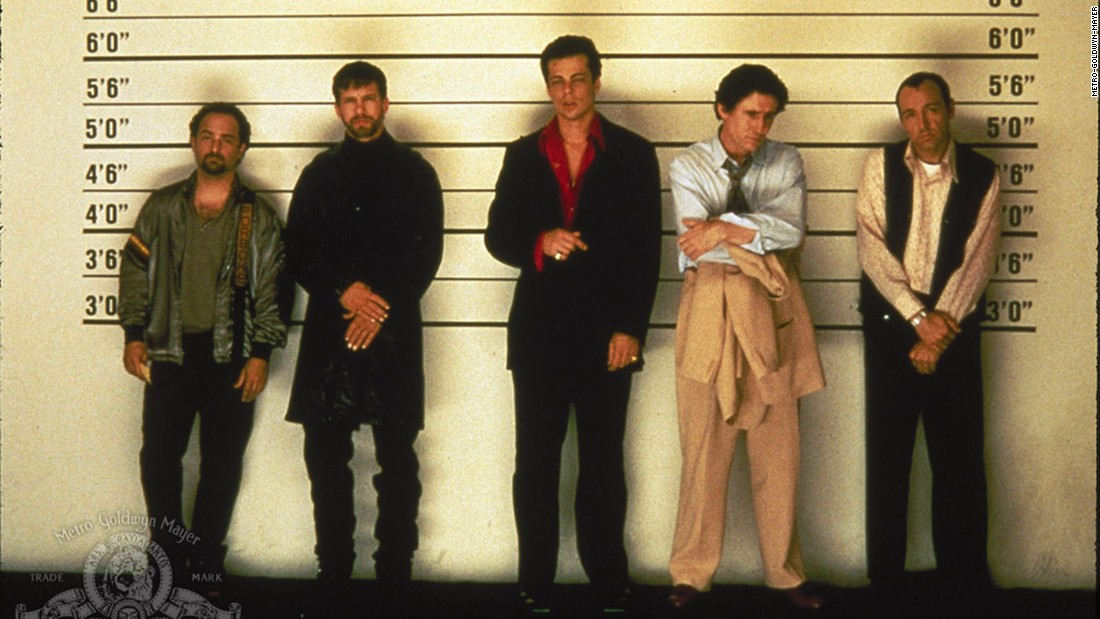 "<strong>""The Usual Suspects""</strong>: Fans are still talking about the surprise ending of this crime drama starring Kevin Spacey, Stephen Baldwin, Gabriel Byrne, Benicio Del Toro, and Kevin Pollak. <strong>(Hulu) </strong>"