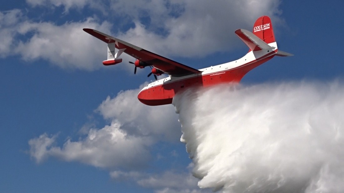 World's biggest water bomber up for sale | CNN Travel