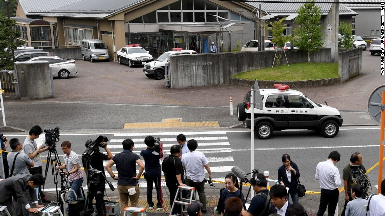 Disabled targeted in deadly attack in Japan