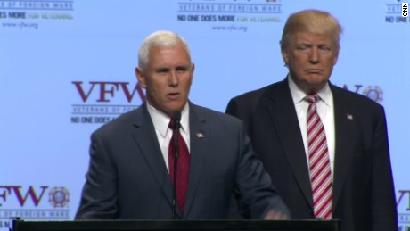 donald trump mike pence isis vfw bts_00001321