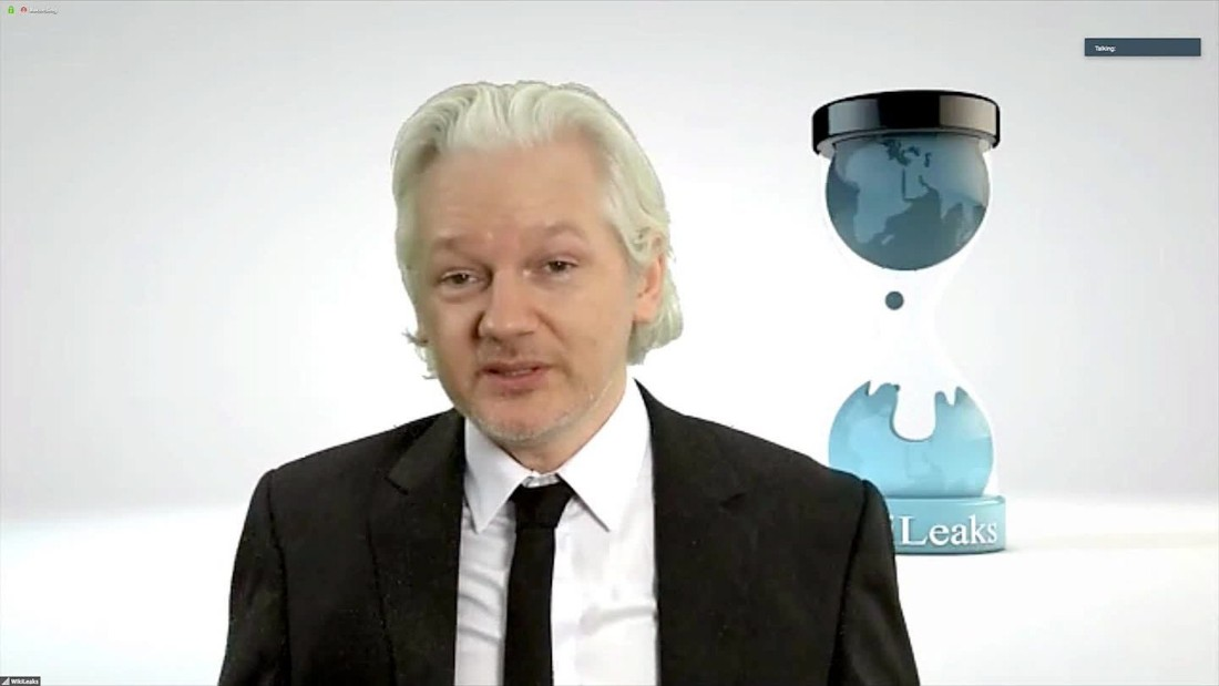 Julian Assange: 'A lot more material' coming on US elections