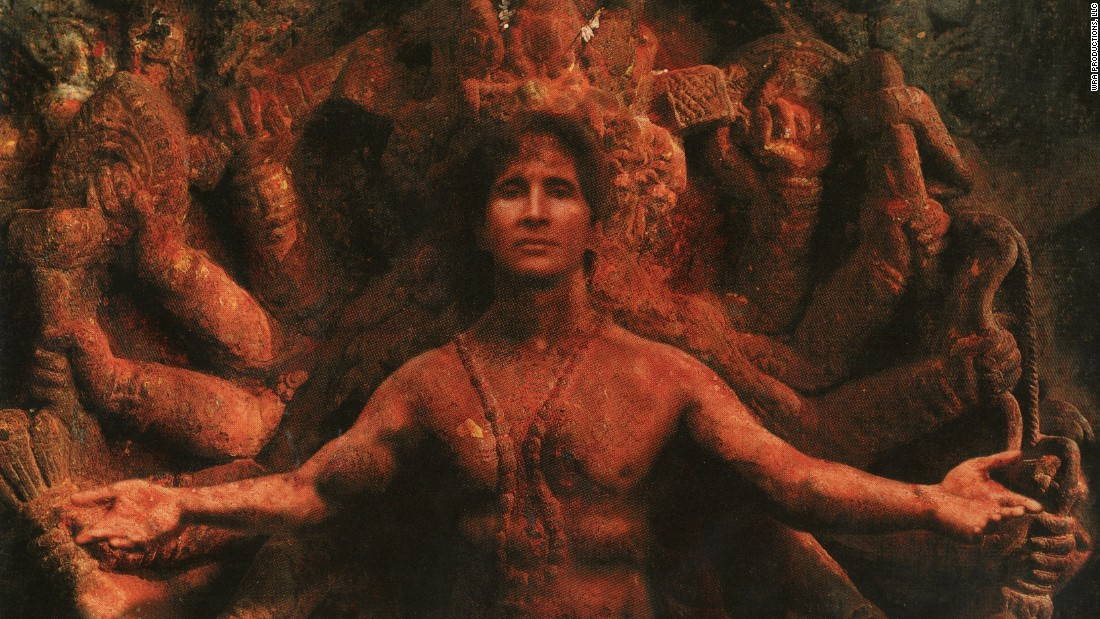 Another image of Michel appearing as a Hindu god. Allen told Vanity Fair that while Michel probably thought of himself as God, he told his followers that God exists inside everyone.