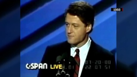 exp Bill Clinton's DNC speeches over the years _00002001