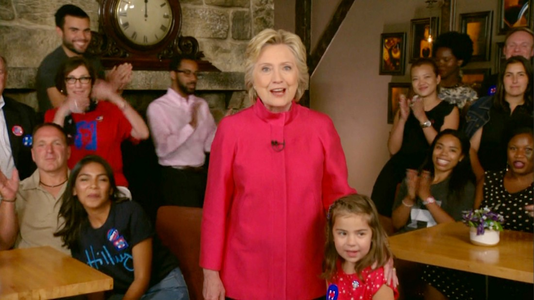 Clinton nomination puts 'biggest crack' in glass ceiling