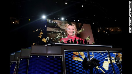 Historic night for Hillary Clinton