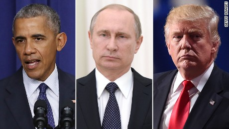 Obama puts Trump on the spot with Russia sanctions