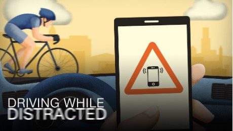 Driving While Distracted: It's not just texting anymore