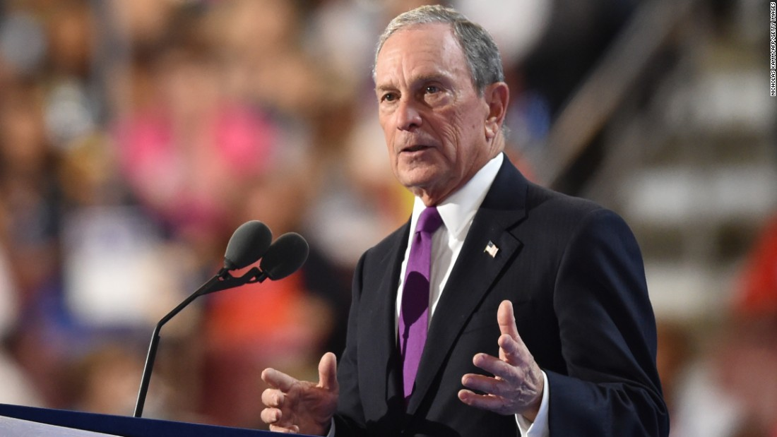 """I understand the appeal of a businessman President. But Trump's business plan is a disaster in the making,"" said Bloomberg, an independent. He said the Republican nominee is a ""risky, reckless, and radical choice."""