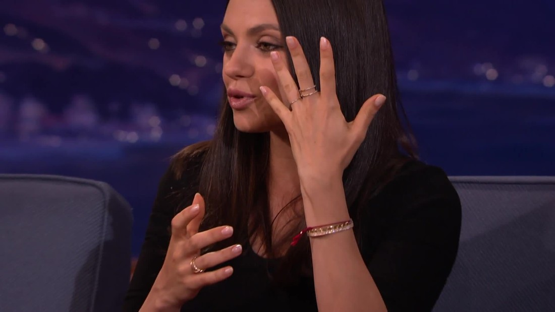 Mila Kunis and Ashton Kutcher Bought Wedding Rings on Etsy for a Grand Total of190