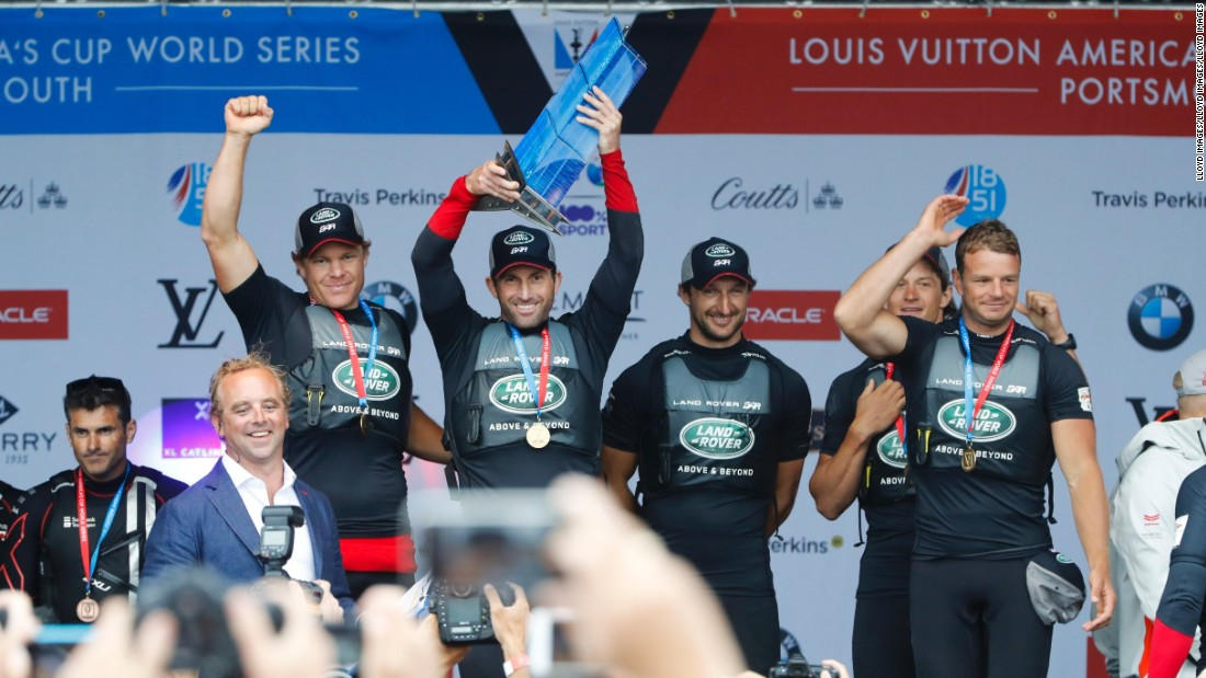 The hi-tech approach gave Ben Ainslie's team an edge in the 2015-16 America's Cup World Series.