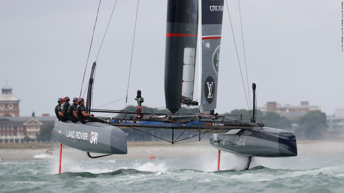The winner of the challenger competition will then take on defending champion Oracle Team USA for the America's Cup title.