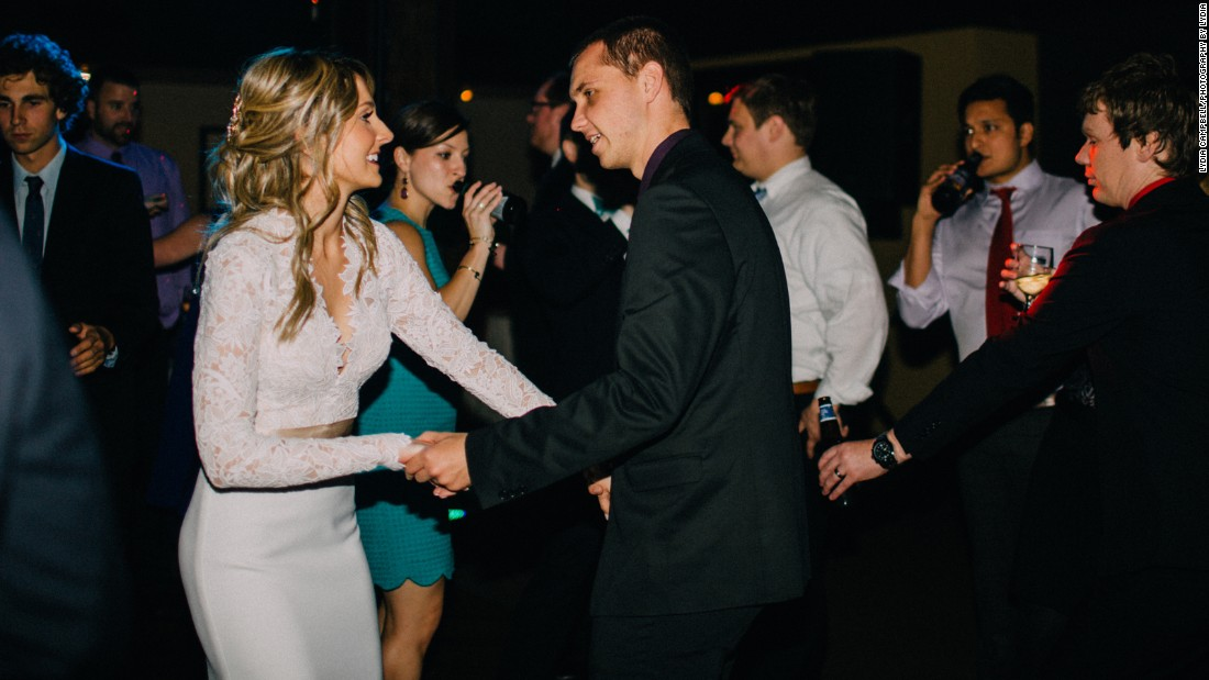"At the reception, the newlywed Leeanne Mako persuaded Galinsky to join her for a dance. ""Before he went onto the dance floor, Jimmy recalls (Evgeny) giving him a look like, 'Is this OK with you?' "" she said."