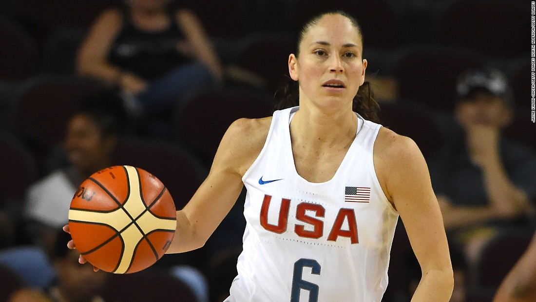 Point guard Sue Bird is a nine-time WNBA All-Star, three-time Olympic gold medalist and two-time NCAA tournament champion with the University of Connecticut. Kyrie Irving of the Cleveland Cavaliers has called her one of his favorite point guards -- men or women -- of all time.