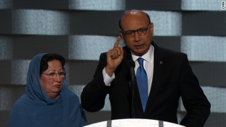 Khizr Khan's powerful DNC speech (Full speech)