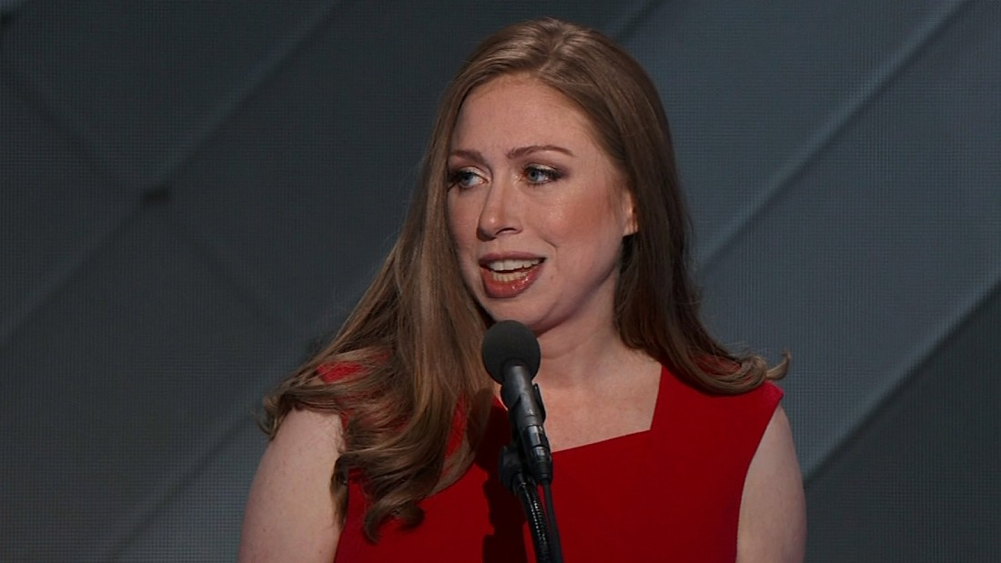 Chelsea Clinton embraces role in her mother's campaign
