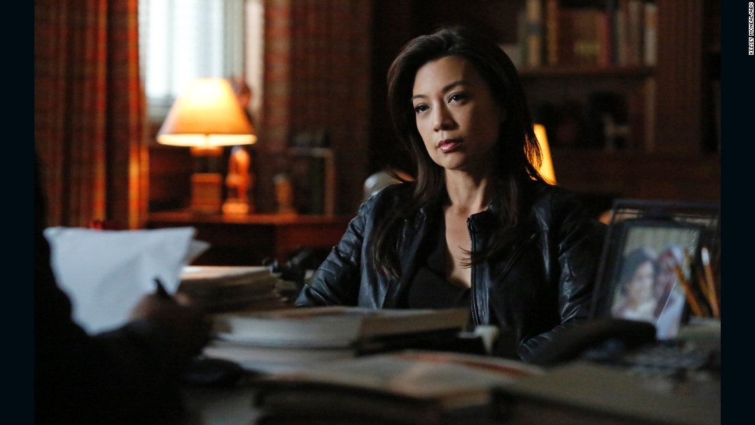 ming na wen stars as agent may in marvels