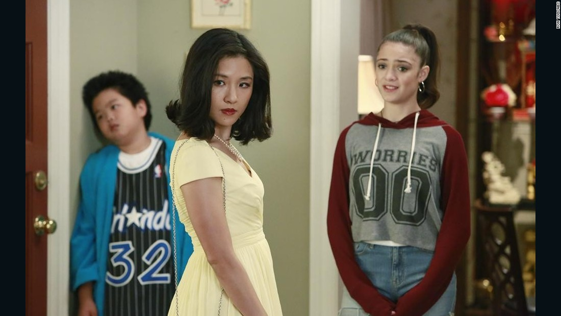 "Constance Wu stars in ABC's ""Fresh off the Boat."" You may also have seen her in the TV series ""Eastsiders."""