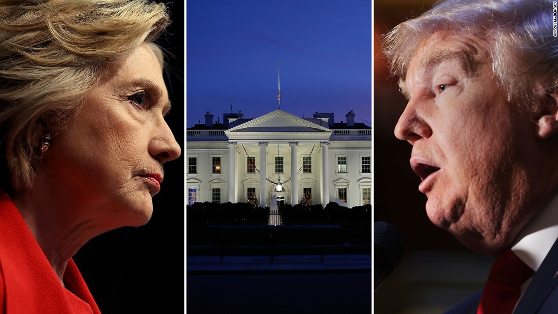 CNN Poll of Polls: Clinton tops Trump by 10