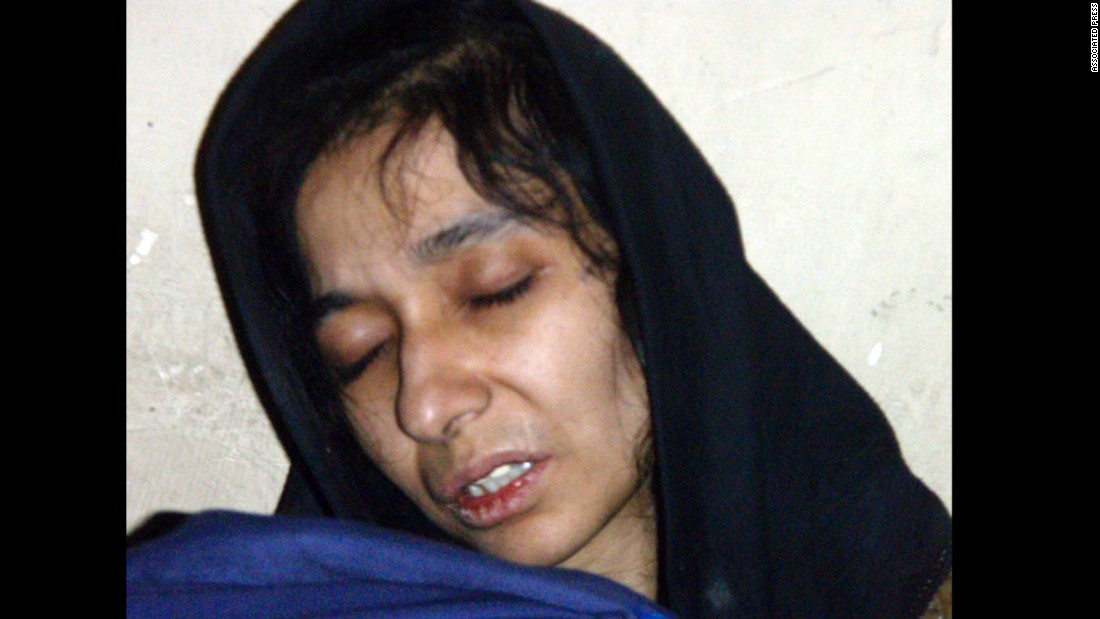 "Pakistani neuroscientist Aafia Siddiqui was extradited to the United States in 2008. Two years later,<a href=""http://www.cnn.com/2010/CRIME/02/03/siddiqui.trial/"" target=""_blank""> she was convicted of attempting to kill Americans in Afghanistan</a> and sentenced to 86 years in prison. Prosecutors said Siddiqui shot at FBI agents and military officials while she was being held at an Afghan facility."