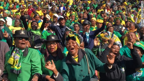 The ANC holds a final rally in Johannesburg before the highly contested local elections.