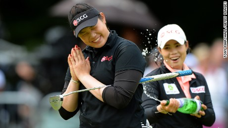 Golf and Jason? Ariya Jutanugarn's perfect day