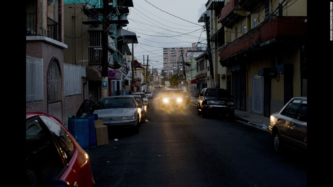 Drake visited Puerto Rico for five days in July to photograph the Zika epidemic. Her travels included the Santurce neighborhood of San Juan, which is seen here.