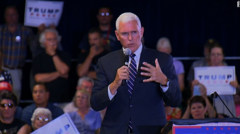 Pence breaks with Trump, endorses Paul Ryan