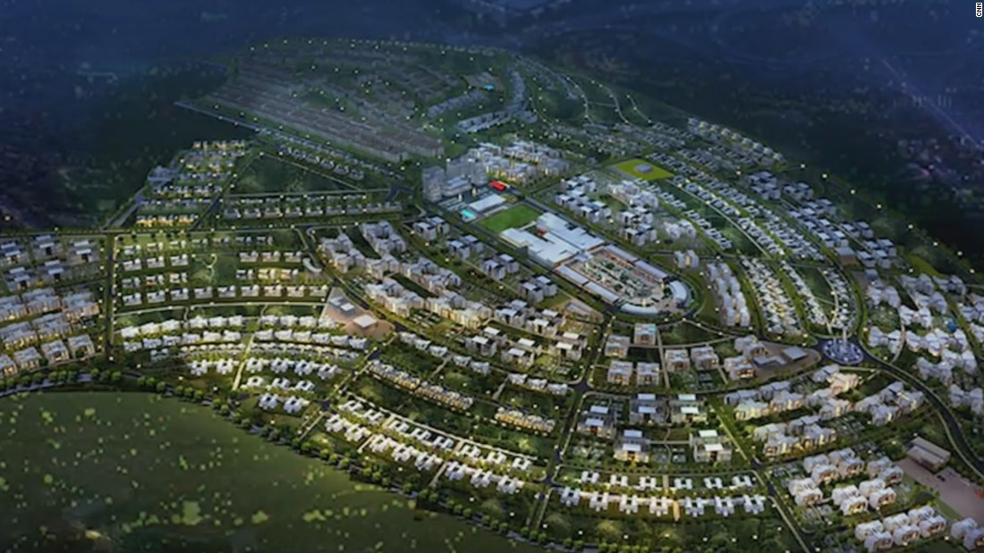 "Just outside of Rwanda's capital Kigali is Vision City, the country's largest housing project. It is part of the government's strategy to embrace ""smart cities."" The town square will have free wifi and the street lamps will be solar-powered."