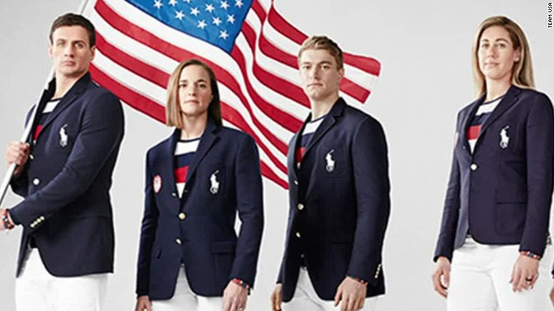 team usas olympic uniform mocked on social media cnn