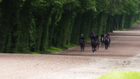 cnnee galope entrenando en chantilly _00002806