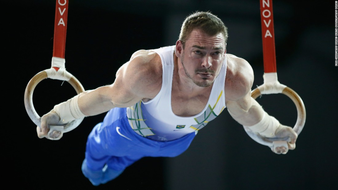 Arthur Zanetti was crowned gymnastics' newest Lord of the Rings with Olympic gold on the apparatus in 2012. He is the only Olympic gymnastics champion in Brazil's history.<br />