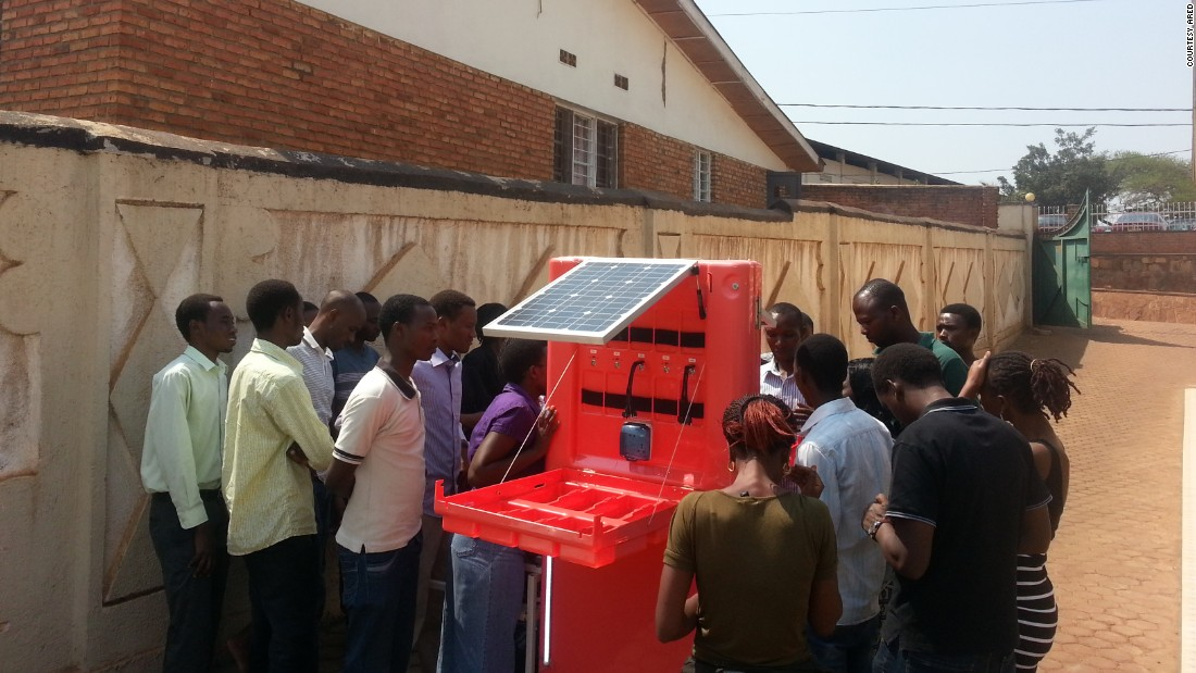 Nyakarundi's kiosks are designed for places with high footfall, such as bus stops and marketplaces.