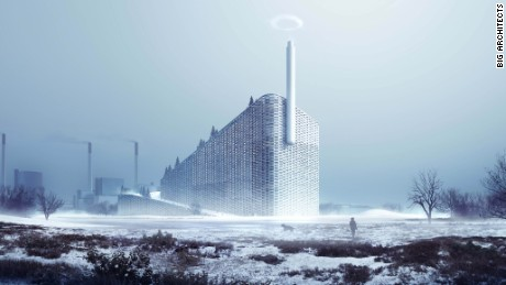 Amager Bakke Waste-to-Energy Plant, Copenhagen -- Not only will this progressive plant include a ski slope, but it will also pump out 30-meter-wide rings of smoke to remind visitors of the impact of over-consumption.