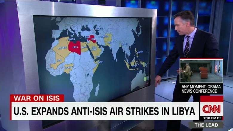 ISIS losing ground in home base, expanding elsewhere