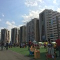 athletes village shot