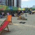 athletes village beach