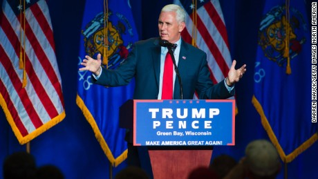 Pence on David Duke praise: 'It does really bother me'