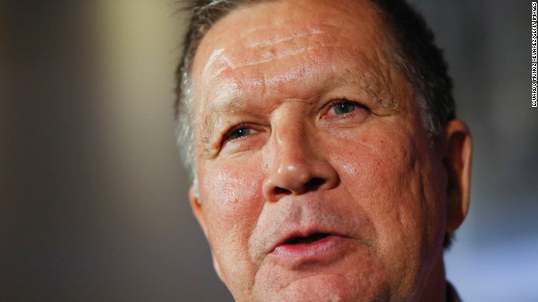 Kasich on Donald Trump: It's one thing after another