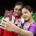 rio olympics korean selfie 0808 RESTRICTED