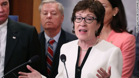 GOP Sen. Susan Collins: I cannot support Donald Trump