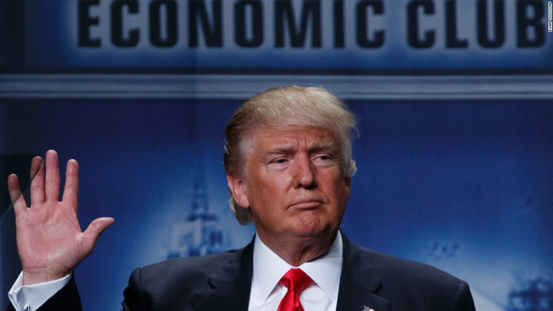 Melania Trump will address immigration controversy, Donald Trump says