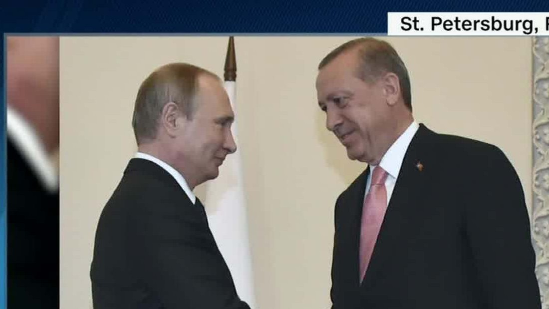 Russia's Putin and Turkey's Erdogan meet after damaging rift