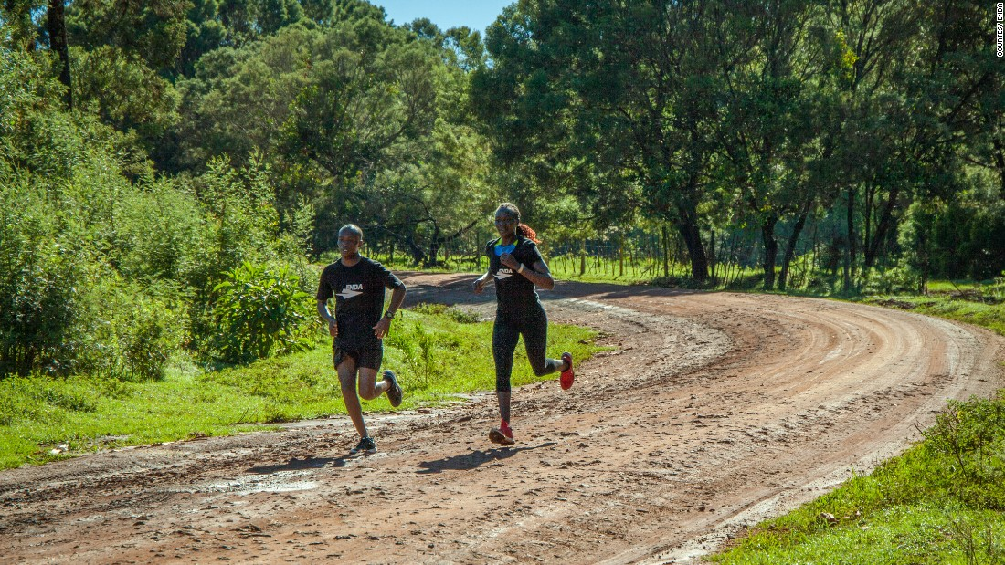 Enda's founders went to Iten to get feedback on their prototype, talking to athletes about what they need from a running shoe.