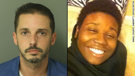 Chad Copley, left, is charged with murder in Kouren Thomas' death.