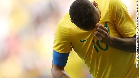 Neymar and Brazil's football team have been having a tough Olympics.