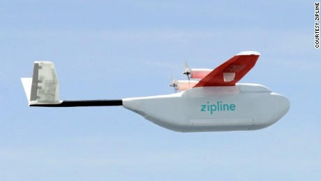 Life-saving drones take flight in Rwanda